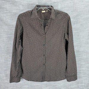 Orla Kiely x Uniqlo Print Button Up Shirt Medium